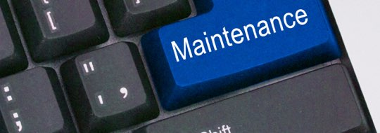 maintenance keyboard button