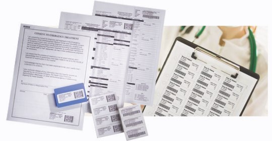 medical thermal print documents